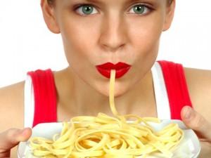 Употребление макарон опасно для женского сердца