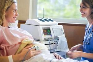 Снятие ЭКГ у беременной