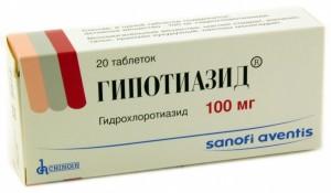 Гипотиазид, как диуретик в лечении диастолической дисфункции миокарда