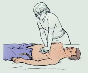Правила и техника массажа сердца
