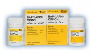 Медикаментозное лечение тромбоза